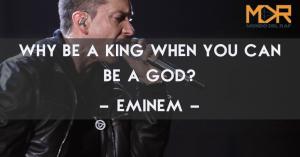 "Frase di Eminem della canzone ""Rap God"""