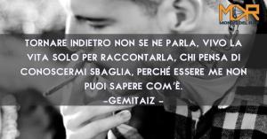 """Frase di Gemitaiz della canzone """"Non se ne parla"""""""